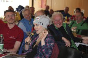 von links nach rechts: Weltmeisterin Andrea Limbacher – ein Routinier des Come backs