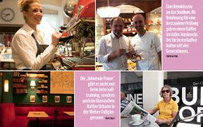 Wiener Melange. Kaffeehauskultur