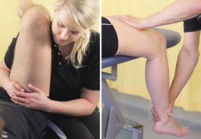 Manuelle Therapie der Hüfte / Funktionsmassage am Oberschenkel
