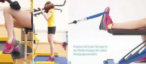 4 Wadentraining kräftigt die hinteren Unterschenkelmuskeln / 5 Waden stehend einbeinig / 6