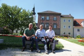 v. r.: Andreas Rabl, Horst Felbermayr, Andreas Rabl