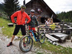 Die Triamerhütte beim Wildfrauenloch © Karl Posch