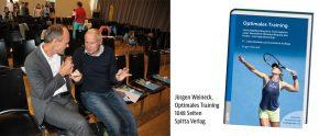 Dr. Michael Gabl und Prof. DDr. Weineck beim Interdisziplinären Symposium des Instituts für Sporttherapie in Wels