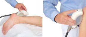 Bei akuten und chronischen Entzündungen, sowie Überlastungssyndromen: Die Fokussierte Stoßwelle entfaltet Tiefenwirkung, ohne die Haut zu beanspruchen.